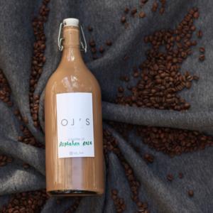 Drivu Asphahan Rose Latte - 1 Liter (Cold)
