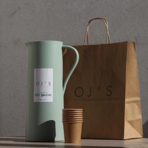 Drivu OJ's Special Latte Flask (Hot)