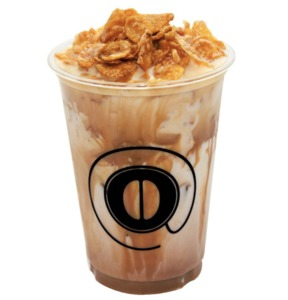 Drivu Iced Cereal Latte