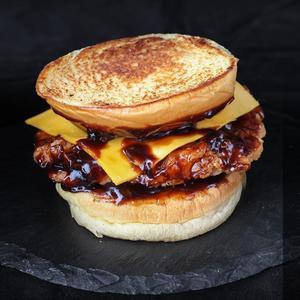 Drivu BBQ Chicken Toast