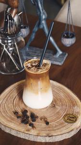 Drivu Iced Hazelnut Latte