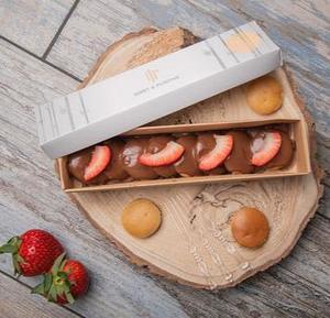 Drivu Nutella & Strawberry Mini Pancakes