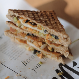Drivu Halloumi Sandwich