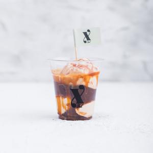 Drivu Salted Caramel Affogato