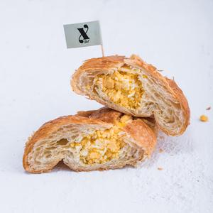 Drivu Scrambled Egg & Cheese Croissant