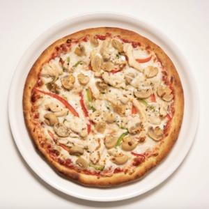 Drivu Garlic Chicken Pizza
