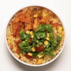 Drivu Chicken Fajita Bowl