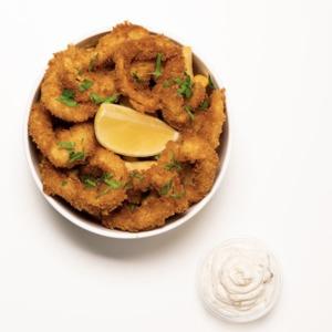 Drivu British Style Calamari & Chips