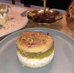 Drivu Kunafa Cheesecake  كنافة تشيز كيك