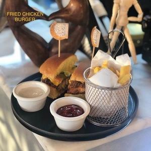 Drivu Chicken Burger Fried