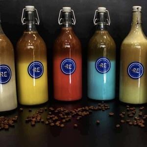 Drivu Blue Velvet Latte Bottle (1 liter)