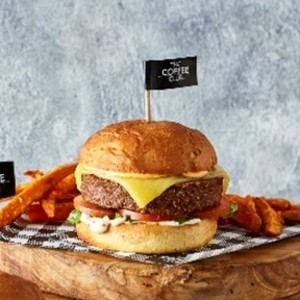 Drivu Plant-Based Burger from Beyond Meat