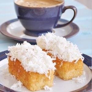 Drivu Toasted Coconut Cake