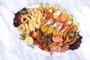 Drivu Mixed Grilled Seafoods