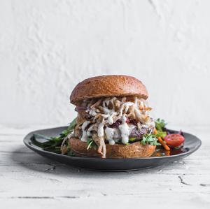 Drivu Shroom BEEF Burger