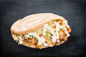 Drivu Shawarma chicken sandwich