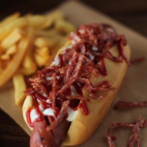 Drivu Bacon Hotdog