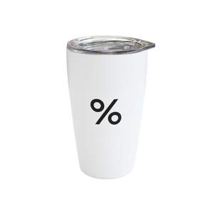 Drivu % 12oz Tumbler