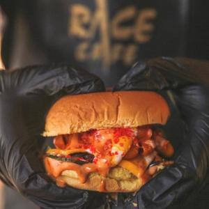Drivu Mac & Cheese Burger