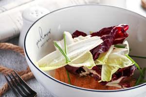 Drivu Salmon Tataki Salad