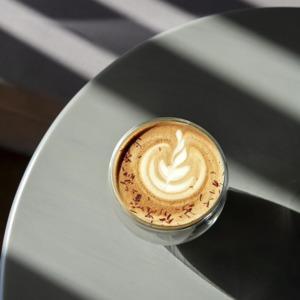 Drivu Aryad Hot Saffron Latte