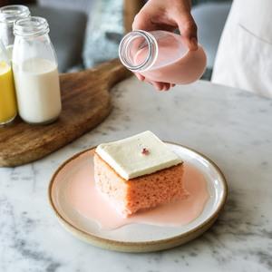 Drivu Rose Milk Cake (slice)