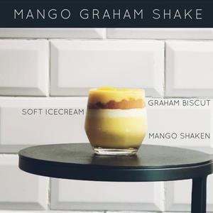 Drivu Mango Graham Shake
