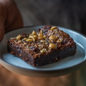 Drivu Nutella Brownie