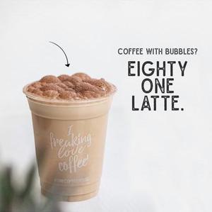 Drivu Eighty One Latte