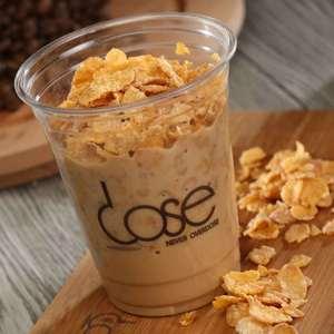 Drivu Iced Dose Corn Flakes Latte