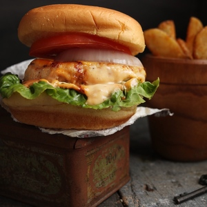 Drivu Chicken Burger Big