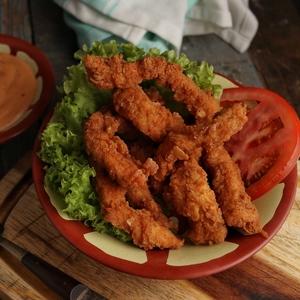 Drivu Chicken Zinger Plate