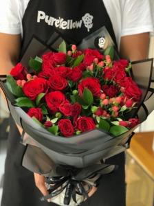 Drivu Red Bouquet