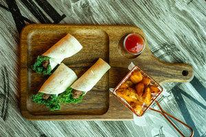 Drivu Tanzanian Kebab Wrap