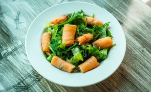 Drivu Exotic Salmon Salad