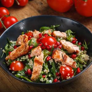 Drivu Salmon Quinoa Salad