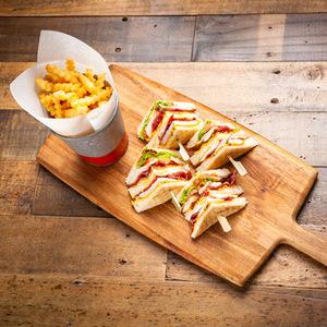 Drivu Kaffa Club Sandwich