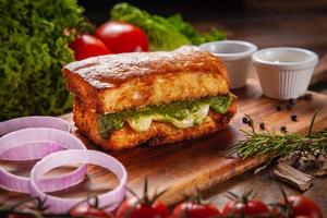 Drivu Mozzarella Focaccia Toast
