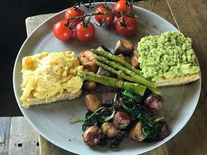Drivu Sumac Yogurt Grilled Salmon & Egg Tost