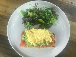 Drivu Smashed Avocado Smoked Salmon Egg Toast