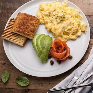 Drivu Egg with Smoked Salmon & Avocado