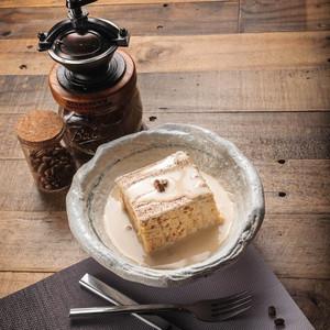 Drivu Coffee Milk Cake Slice