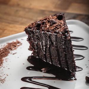 Drivu Triple Chocolate Cake Slice
