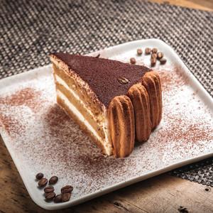 Drivu Tiramisu Cake Slice