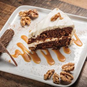 Drivu Carrot Cake Slice