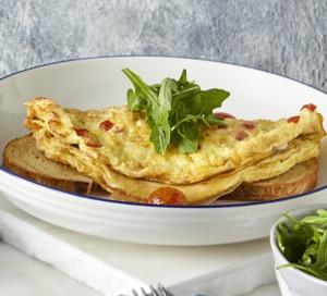 Drivu Cheese & Tomato Omelette