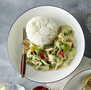 Drivu Vegetable Thai Green Curry