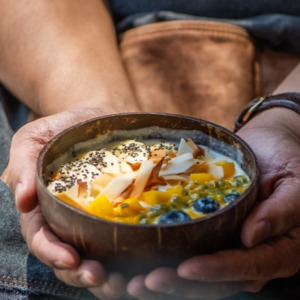 Drivu Organic Young Coconut Bowl