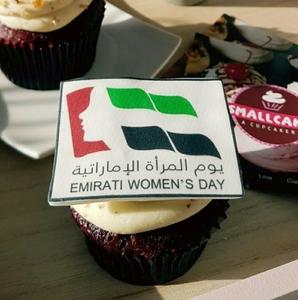 Drivu Emirati Women's day Cupcake