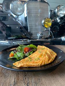 Drivu Vegetarian Omelette